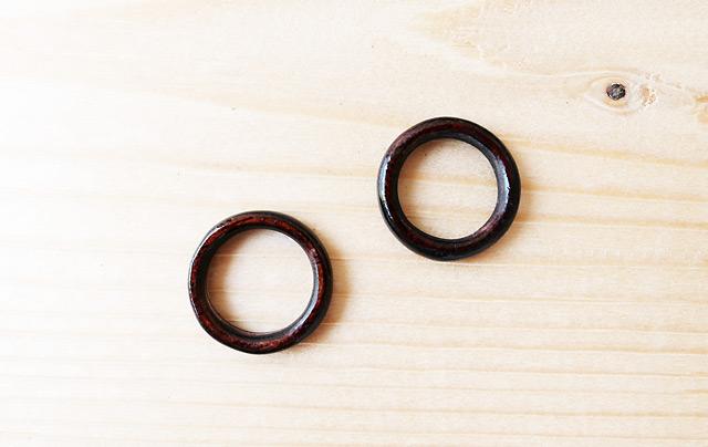 木製のリング